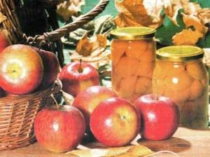 Яблоки в сиропе «Лакомка»