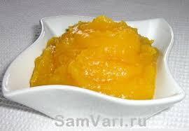 Яблочно-тыквенное пюре